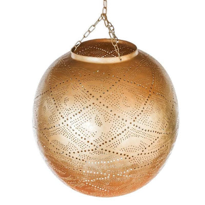 a little morocco pendant light shade lattice ball front