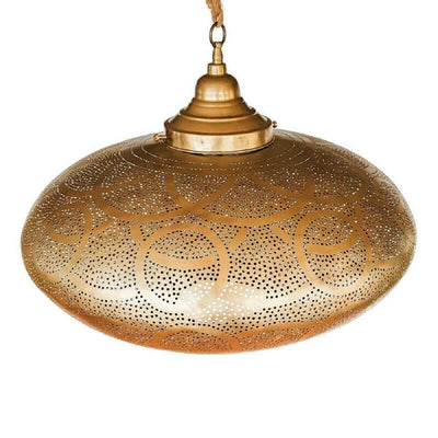a little morocco pendant light shade lattice oval front