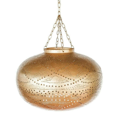 a little morocco pendant light lattice sphere front