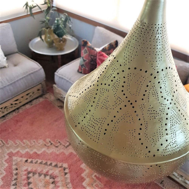 a little morocco pendant light shade teardrop styled