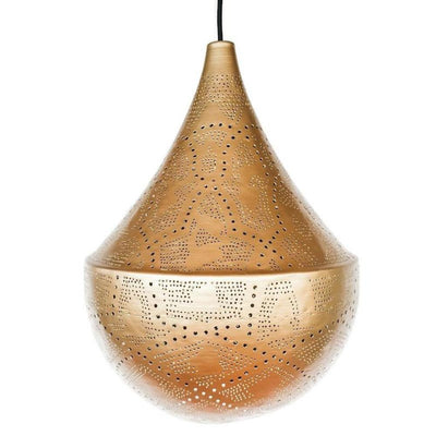 a little morocco pendant light lattice teardrop front