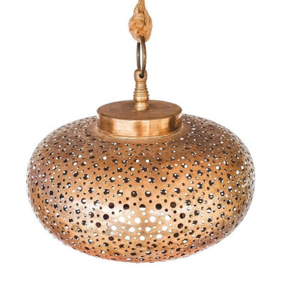 a little morocco pendant light shade petite polka dot front