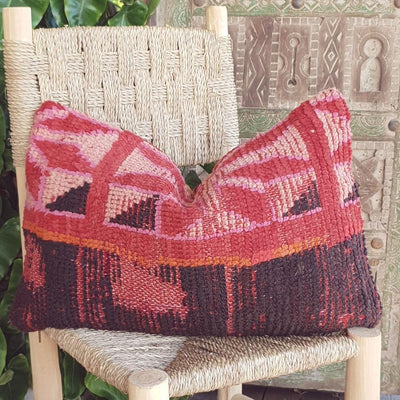 a little morocco vintage moroccan cushion e front