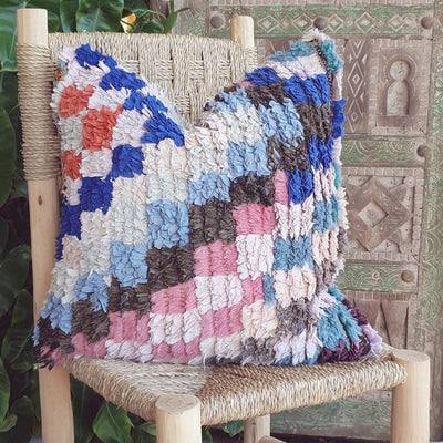 a little morocco vintage moroccan cushion s front
