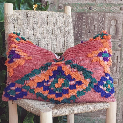 a little morocco vintage cushion h front