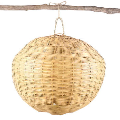 Light Shade - Rattan Ball Medium-Lights and Lanterns-A Little Morocco