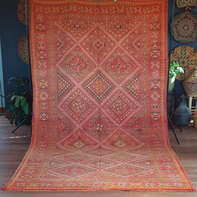 "Rug - ""Sands of Paradise"" Zemmour 345x187-Rug-A Little Morocco"