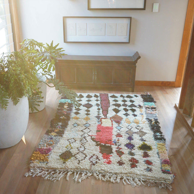 "Rug - ""Village"" Azilal 125x175cm-Rug-A Little Morocco"