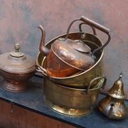 Tableware - Large Vintage Polished Copper Teapot-Tableware-A Little Morocco