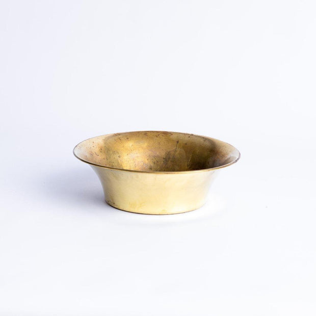 Tableware - Brass Serving Bowl 210mm-Tableware-A Little Morocco