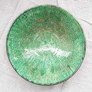 Tamegroute - Large Green Bowl 31cm-Tamegroute-A Little Morocco