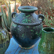Tamegroute - Large Urn 38cm-Tamegroute-A Little Morocco