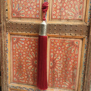 a little morocco tassel royal burgundy styled