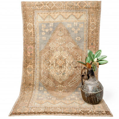 "Turkish Vintage Rug - ""Azra"" 200x113cm"