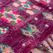 a little morocco - vintage moroccan rug - royal court detailed