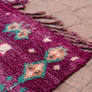 a little morocco - vintage moroccan rug - royal court detailed A
