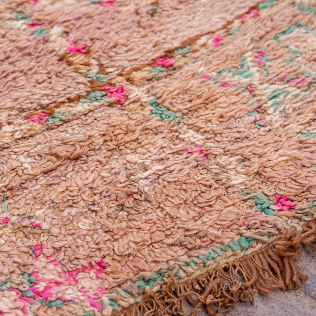 a little morocco - vintage moroccan rug - aimee detailed