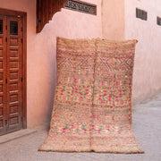a little morocco - vintage moroccan rug - aimee angled