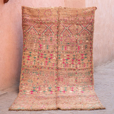 a little morocco - vintage moroccan rug - aimee front
