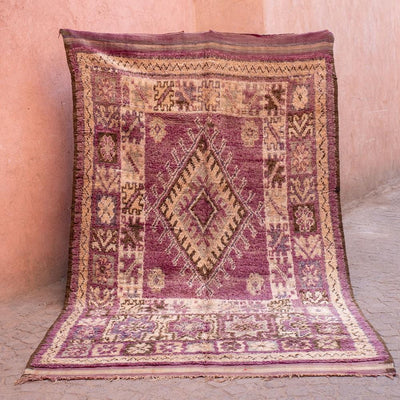 A Little Morocco, Vintage Moroccan Rug, Aziza Product Image