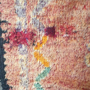 A Little Morocco, Vintage Moroccan rug Blush Burst Detail
