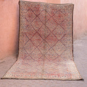 a little morocco vintage moroccan rug loussia front