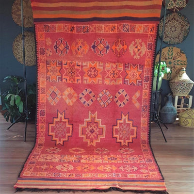 a little morocco, vintage moroccan rug, takama Front