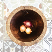 A Little Morocco, Wooden Bowl Style B Top