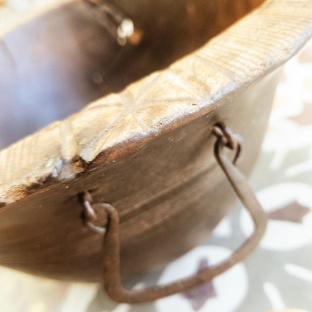 A Little Morocco, Wooden Bowl Style B Detail