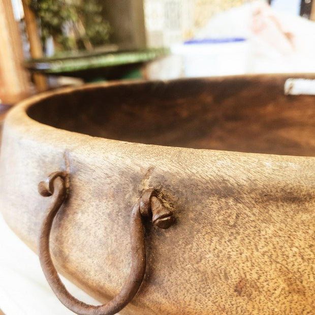 A Little Morocco, Wooden Bowl Style C Handle B