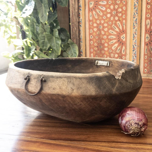 A Little Morocco, Wooden Bowl Style C Side
