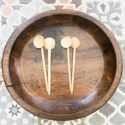 A Little Morocco, Wooden Bowl Style D Top B