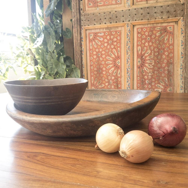 A Little Morocco, Wooden Bowl Style D Side B