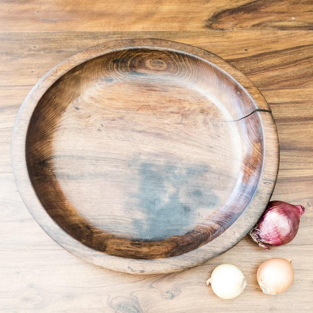A Little Morocco, Wooden Bowl Style D Top C