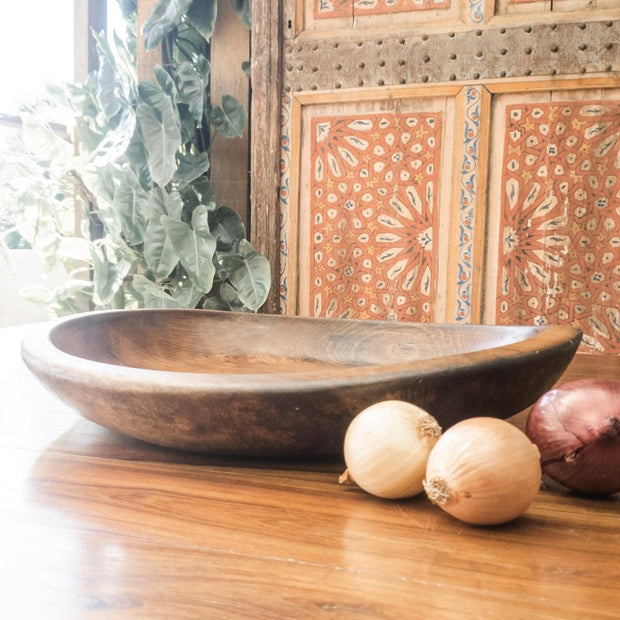 A Little Morocco, Wooden Bowl Style D Side