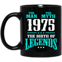 1975 Mug The Man The Myth The Birth Of Legends Coffee Mug Tea Mug