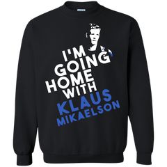 Vampire Diaries T-shirts I'm Going Home With Klaus Mikaelson Shirts Hoodies Sweatshirts - TeeDoggie.Com