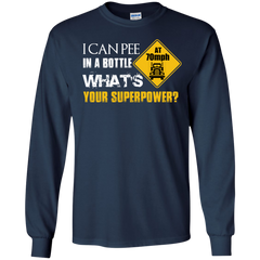 TRUCKER Shirts I can pee in a Bottle What's your superpower T-shirts Hoodies Sweatshirts - TeeDoggie.Com