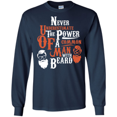 Beard Shirts Never underestimate the power of a Man with beard T-shirts Hoodies Sweatshirts