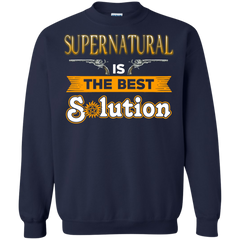 Supernatural T-shirts Supernatural Is The Best Solution Shirts Hoodies Sweatshirts