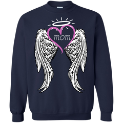 Mother's day Family T-shirts Angel Mom Shirts Hoodies Sweatshirts