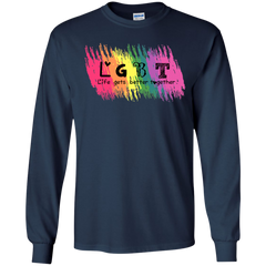 LGBT Shirts Life Get Better Together T-shirts Hoodies Sweatshirts