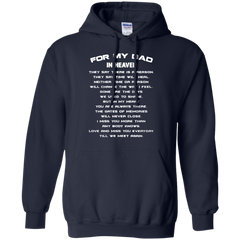 Father's Day Gift T-shirts For My Dad In Heaven Shirts Hoodies Sweatshirts