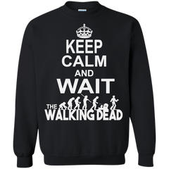 Walking Dead T-shirts Keep Calm And Wait The Walking Dead Shirts Hoodies Sweatshirts - TeeDoggie.Com