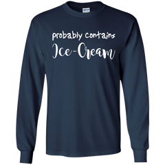 Hobbies Shirts Probably Contains Ice Cream T shirts Hoodies Sweatshirts