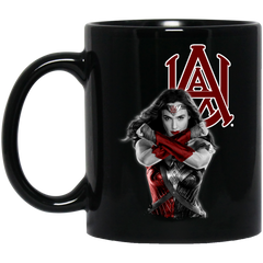 Alabama A&M Bulldogs Wonder Woman Women Rights Women March Coffee Mug Tea Mug