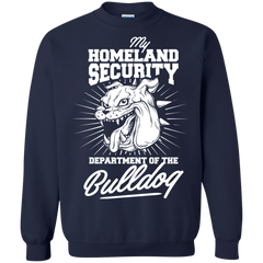 Dogs Bull dogs Shirts Homeland Security department of Bulldog T-shirts Hoodies Sweatshirts
