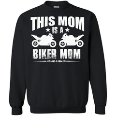 Biker Mother Day Shirts This Mom is A BIKER MOM T-shirts Hoodies Sweatshirts
