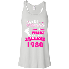 1980 Woman Shirts No Woman perfect except those in 1980 T-shirts Hoodies Sweatshirts - TeeDoggie.Com