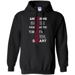 Autism T-shirts Amazing Beautiful Fantastic Terrific Strong Smart Shirts Hoodies Sweatshirts